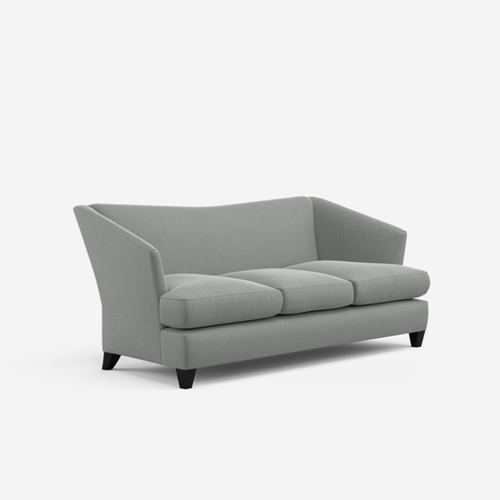 Ava 4-seater sofa, L220 x D90 x H90cm, Trek Storm