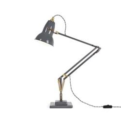 Orginal 1227 Desk lamp, brass/elephant grey