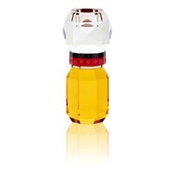 Nashville T-light holder, L8 x H18 x D8 cm, yellow/red