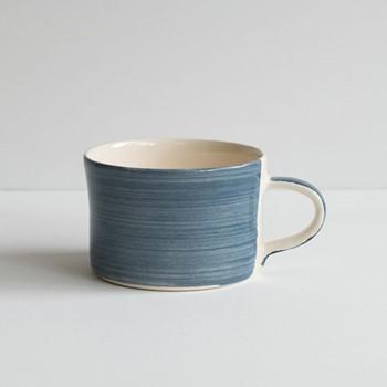 Plain Wash Set of 6 mugs, H7 x W10.5cm, moss green