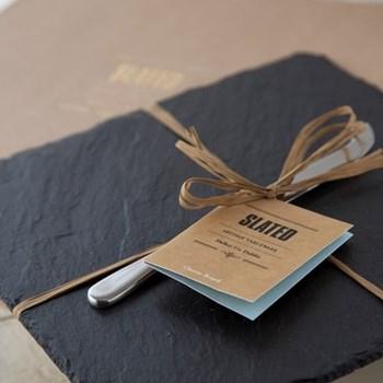 Square cheeseboard gift box 29 x 29cm