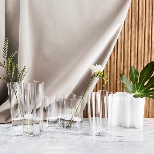 Alvar Aalto Vase, 9.5cm, clear
