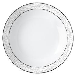 Dune Coupe soup plate, platinum