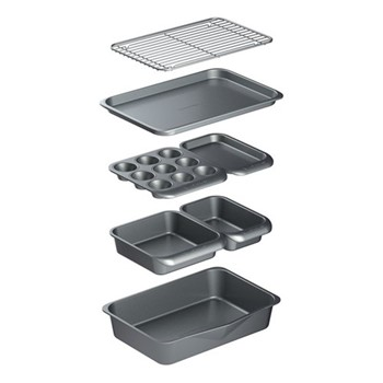 Smart Space Stacking non-stick bakeware set