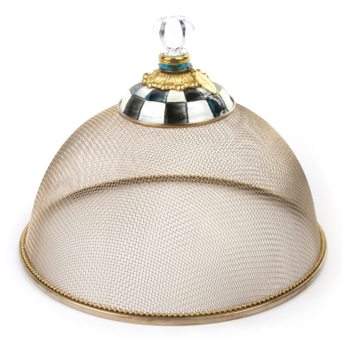 Courtly Check Large mesh dome, 38cm
