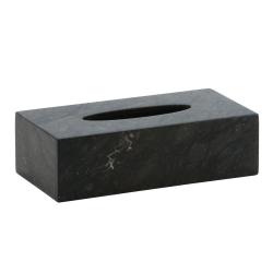 Hammam Tissue holder large, Dark Grey