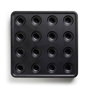 Stumpastaken Tea light holder, 29.5 x 29.5 x 4cm, black outdoor