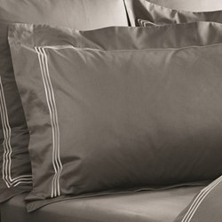 Palais Lux Oxford pillowcase, 50 x 75cm, flint