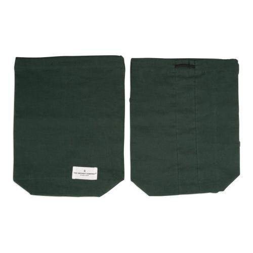 Medium food bag, 30 x 24cm, Dark Green