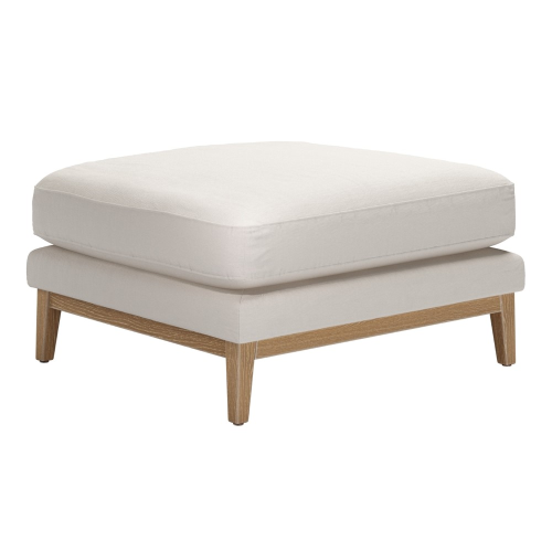 Costello Footstool, H46 x W84 x D79cm, Taupe