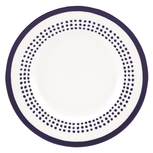 Charlotte Street East Accent plate, 23.4cm