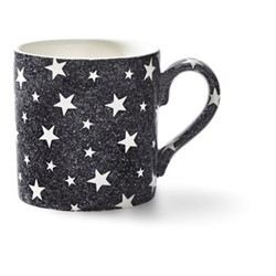 Burleigh - Midnight Sky Mug, 12 x 9 x 9cm - 375ml, black