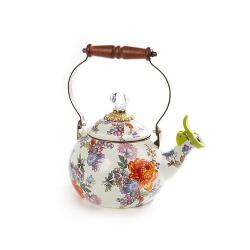 Flower Market Whistling kettle, 2.3L, multi