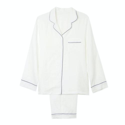 Pyjama trouser set - medium, White