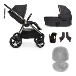 Ocarro 4 piece pushchair starter kit, Onyx Black