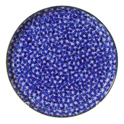Lawn Presentation platter, D35cm, dark blue