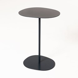 Lily by Lucy Kurrein High side table, W46 x D46 x H56cm, navy