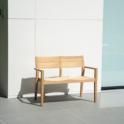 Roble Roble bench, 122cm, oak