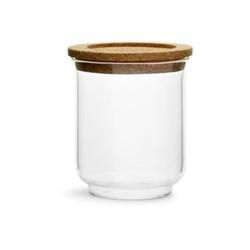 Nature Lare glass jar, Dia11.5cm, cork