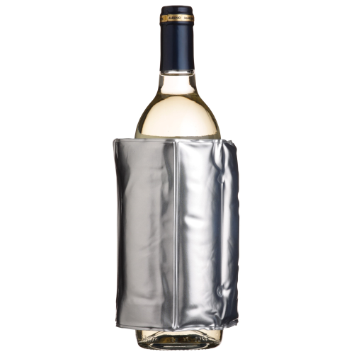 Wrap around wine cooler, Silver Colour