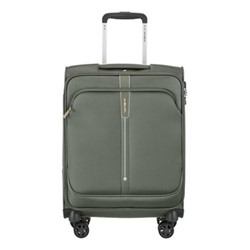 Popsoda Spinner suitcase, 55 x 40 x 20cm, grey