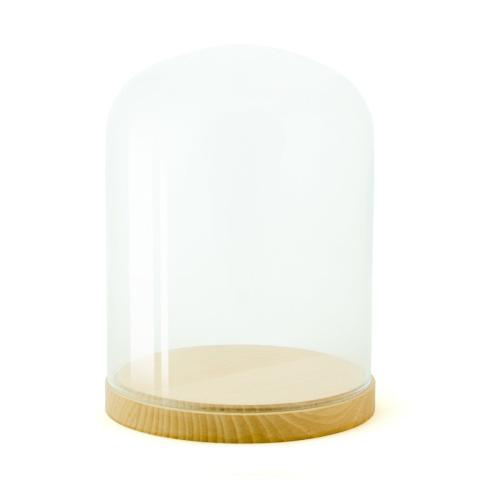 Pleasure Dome Medium display case, H23 x W15cm, Beech