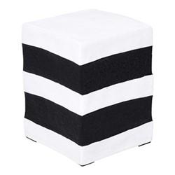 Pick 'n' Mix Square sweet stool, H40 x W30 x D30cm, white