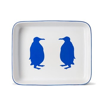 Penguin Rectangular baking dish, 33 x 27cm