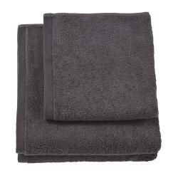 London Hand towel, 55 x 100cm, graphite