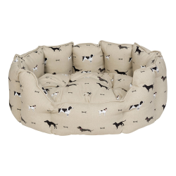 Woof! Small pet bed, 46 x 25 x 28cm