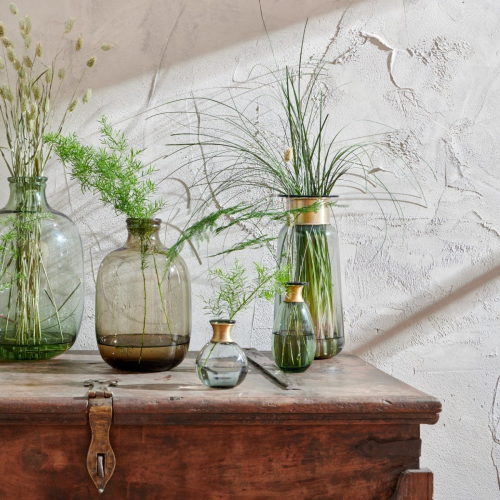 Miza Large vase, H32 x Dia14cm, Green