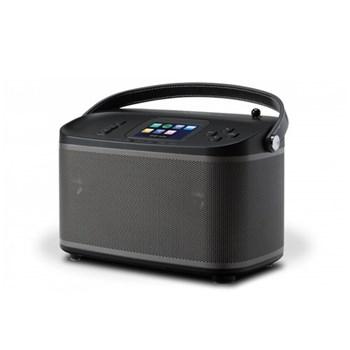 R100 Multiroom bluetooth speaker base station, H16 x W24 x D13cm, black