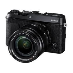 X-E3 Mirrorless camera with XF 18-55 mm f/2.8-4, 24.3MP, black