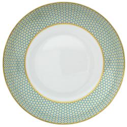 Tresor Rim soup plate, 22cm, Turquoise