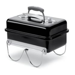Go-Anywhere Portable charcoal barbecue, 44 x 42 x 27cm, Black