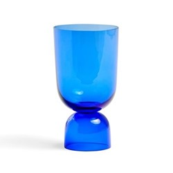 Bottoms Up by Ingrid Aspen Small vase, H21.5 x Dia11.5cm, electric blue