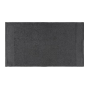 Cotton Bath mat, W50 x L90cm, charcoal
