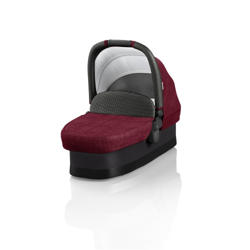 J-carbon Carrycot, Persian red, H18 x W44 x L88cm, Red