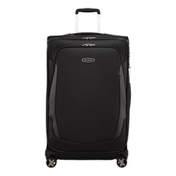 X'Blade 4.0 Spinner expandable suitcase, 78 x 48 x 32/37cm, black