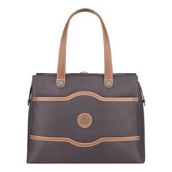Chatelet Air Soft Ladies tote bag, H30.5 x L41.5 x D15.5cm, chocolate