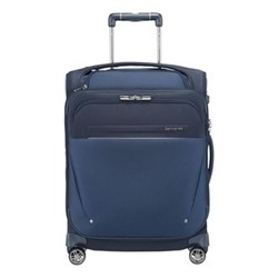 B-Lite Icon Spinner suitcase with top pocket, 55 x 40 x 20/23cm, dark blue