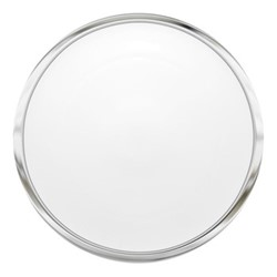 Trasso Charger plate, 33cm, white
