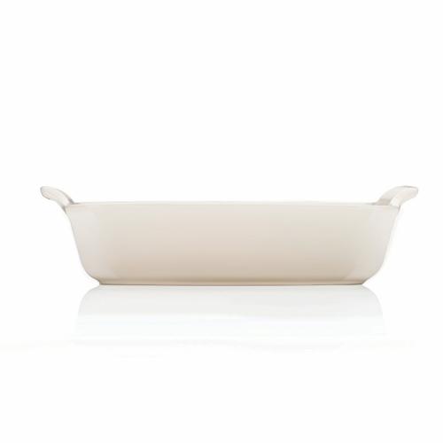 Stoneware Deep rectangluar dish, 26cm - 2.3 litre, Meringue