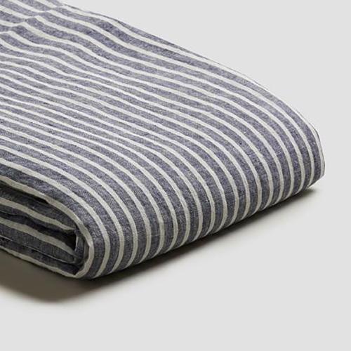 Super king duvet cover, 220 x 260cm, Midnight Stripe