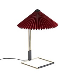 Matin by Inga Sempé Table lamp, H38 x W30 x D30cm, oxide red