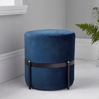Stilts stool, L40 x W40 x D40cm, blue