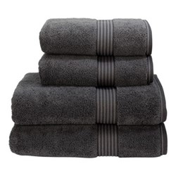 Supreme Hygro Pair of hand towels, L50 x W100cm, graphite
