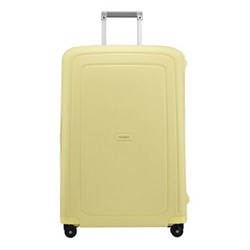 S'Cure Spinner suitcase, 75 x 52 x 31cm, pastel yellow stripes