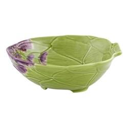 Artichoke Salad bowl, 35.5 x 30.9 x 7.6cm, green