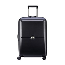 Turenne 4-Double wheel trolley case, 65cm, black